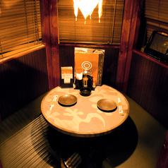 立川での飲み会なら当店にお任せ!温かい照明とゆったりとした雰囲気のある個室席です。仲の良いご友人などとしっぽり飲み会や宴会を♪