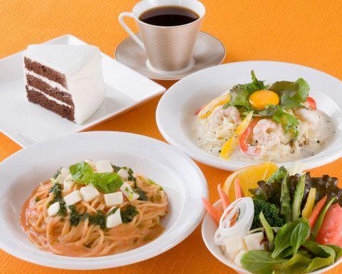 駅近♪パティシエの手作りケーキが自慢のカフェレストラン★