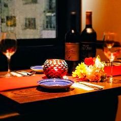 ゆったり落ち着く空間の中で、素材にこだわった料理を楽しみませんか?