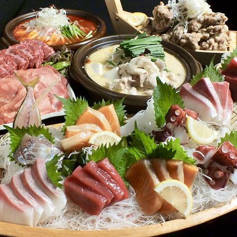 【圧倒的なクオリティ!!】ちばチャンコース(もつ鍋) お料理7品120分飲み放題付4000円(税込)