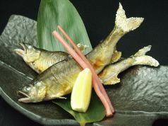 旬の食材 夏…相模川 《鮎の塩焼き》