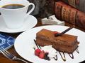 料理メニュー写真チョコケーキ