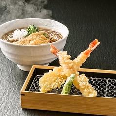 料理メニュー写真海老天麩羅蕎麦