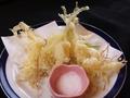 料理メニュー写真芽子にんにくの天ぷら
