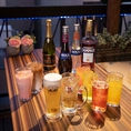 開放感たっぷり!自慢のビアガーデンにお越しください!飲み放題はビール含むカクテル・果実酒、ソフトドリンクも豊富に60種類から選べるので大人数で好き嫌いがあっても大丈夫!
