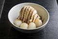 料理メニュー写真白玉バニラアイス
