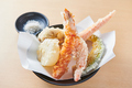 料理メニュー写真天ぷら盛り合わせ・金  (写真は一例です)