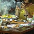 【『インスタ映え』フォトチャンスへのこだわり♪】当店では、色々なシーンでフォトチャンスを演出致しております。お料理、お飲み物、パーティー、イベントタイム、おひとりで、みんなで・・・などなど♪