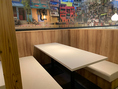 広々としたテーブル席で本格インドカレーをお楽しみ下さい。