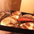 新鮮な貝のみ使用!こだわりぬいた栄養満点の海の幸をお楽しみください。
