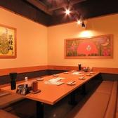 大小個室、半個室さまざまなタイプのお席をシーンに合わせてご用意♪