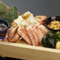料理メニュー写真浜茹で毛蟹