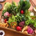 料理メニュー写真しゃぶしゃぶ国産お野菜セット