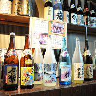 焼酎 日本酒 揃ってます