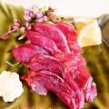 料理メニュー写真馬刺しの赤身