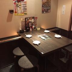 デートや会社宴会、ちょっとした飲み会にも最適なテーブル席もご用意♪☆もちろんプライベートシーンにも対応しております!!♪
