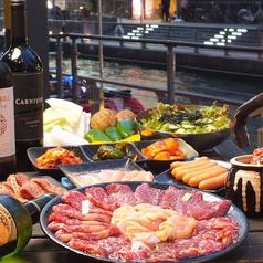 焼肉 肉八 道頓堀本店のコース写真