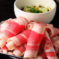 牛の薄切り肉をサッと炙って!チャドルバギ1500円(税込)