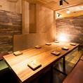 【小・中宴会に】店内奥のテーブル個室