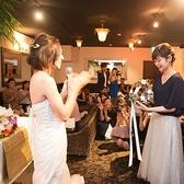 【結婚式二次会の様子】会場の下見~相談、コーディネート、当日のフォロー等、専門のコンセルジュが常勤しているのにお値段は優しいとこが人気の秘密