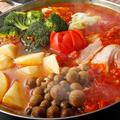 料理メニュー写真太陽の恵!ほかほか美味しいリコピントマト鍋