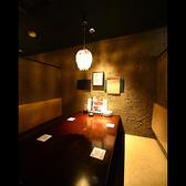 2Fテーブル半個室席♪ベンチシート☆カーテンをしめればほぼ個室♪