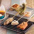 料理メニュー写真ビスカツ3種セット Aセット