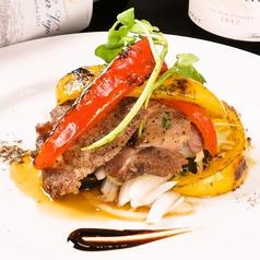 料理メニュー写真マンガリッツァポークのステーキ/