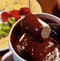 料理メニュー写真チョコフォンデュ