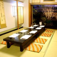【別館】最大20名様までのお座敷個室席です。