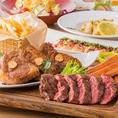【クラフトグリルコース6,000円】お肉3種食べ比べのスゴ技!クラフトビールも飲み放題!前菜~デザートまでの極上宴会コースです!