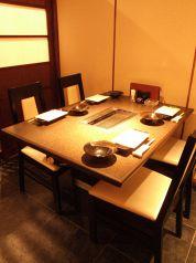 2~4名様までのテーブル個室