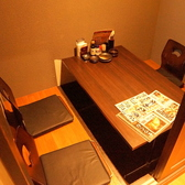 4名様用の個室空間