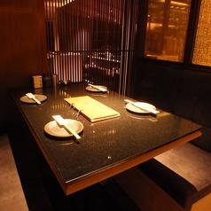 【テーブル席】
