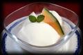 料理メニュー写真正式杏仁豆腐