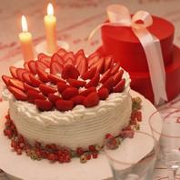 記念日に嬉しいメモリアルケーキ♪
