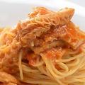料理メニュー写真スパゲティ  トリッパアラビアータ