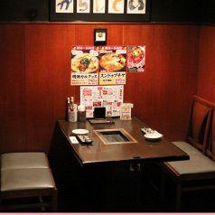半個室でとてもゆっくりできます。高円寺駅・中野駅周辺で美味しいお店をお探しでしたら是非、からし亭をご利用ください★女子会、誕生日会、忘年会、新年会など各種ご宴会承ります!飲み放題付きコース3700円~◎