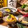 【歓送迎会限定】3時間飲み放題「鮮魚のお造り7点盛り」「柚子香るあさりの酒蒸し」11品6500円