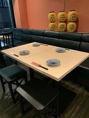 テーブル席拡充しました!!仕事帰りに学校帰りにフラッとお越し下さい♪
