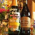 サプライズ特典:乾杯スパークリングワインをプレゼント!ボトルにメッセージを寄せ書きしてプレゼントもできます♪