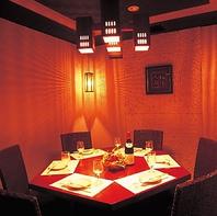【全席個室】安心安全にお食事を愉しむことができます