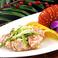 料理メニュー写真伊勢海老とネギ、生姜の炒め