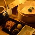 料理メニュー写真極み出汁で食べる鯛茶漬け