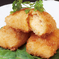 料理メニュー写真ワタリガニのトマトクリームコロッケ