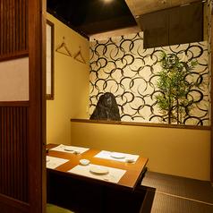 個室 熟成肉と熟成魚 こなれ 梅田店の雰囲気1