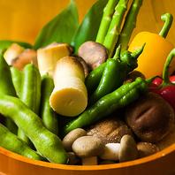 とり徹お勧めの野菜