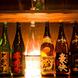 日本酒・焼酎は全国各地より仕入れる拘りラインナップ!