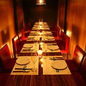 宴会に人気のロングテーブル