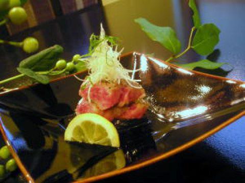 おまかせ懐石 / 黒毛和牛ステーキ付きコース(2名より)
